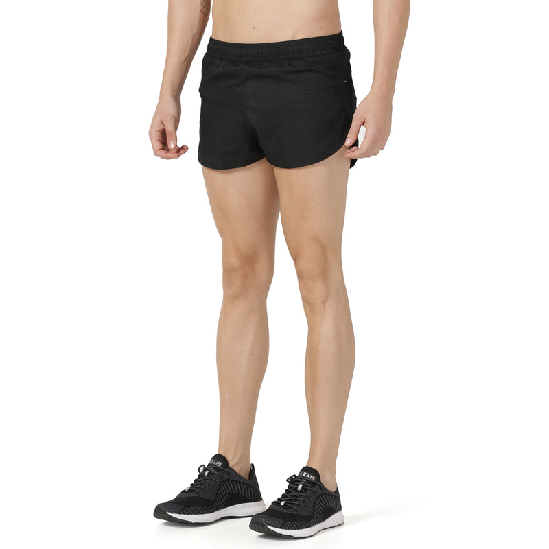 Black 2 inch Ultra Shorts