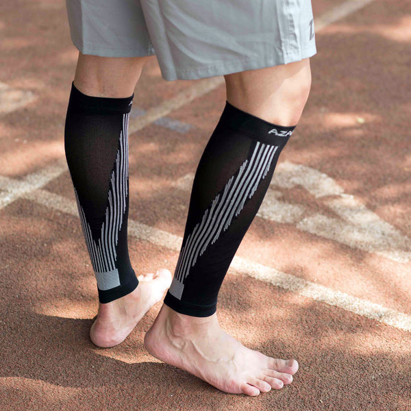 Black Elite Calf Compression Sleeves