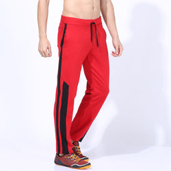 Quick Dry Track Pants Red/Black