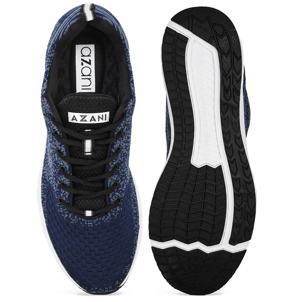 Azani Hyper Glide Running Shoe - Black/Grey