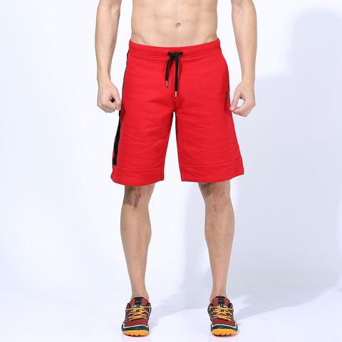 Azani Therma Flex Long Shorts - Red