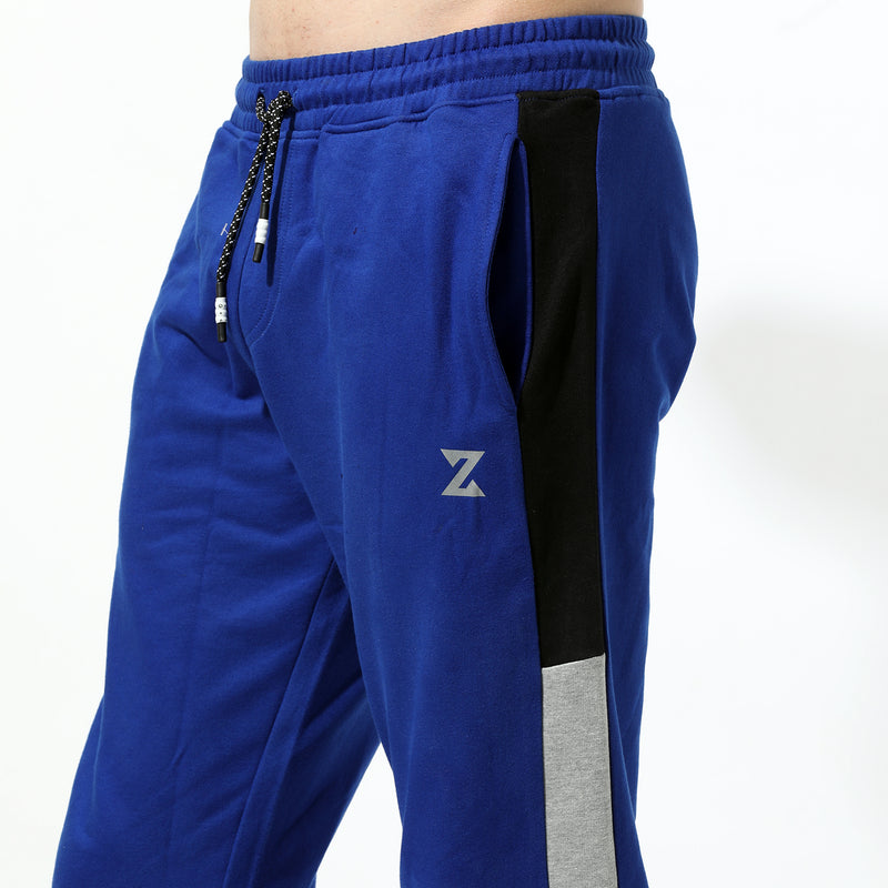 Royal Blue-Grey Mel/Black