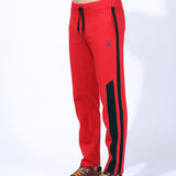 Quick Dry Trackpants Red/Black