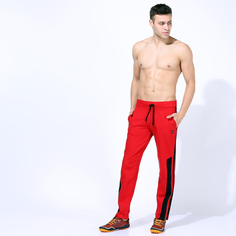 Azani Quick Dry Track Pants Red/Black