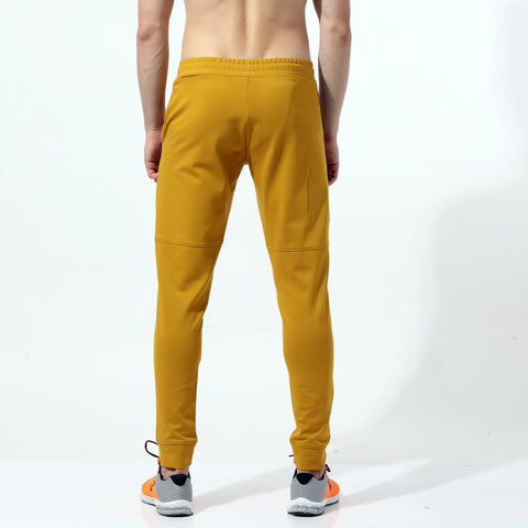 Azani Pace-Tech Knitted Jogger Pants - Ochre Yellow