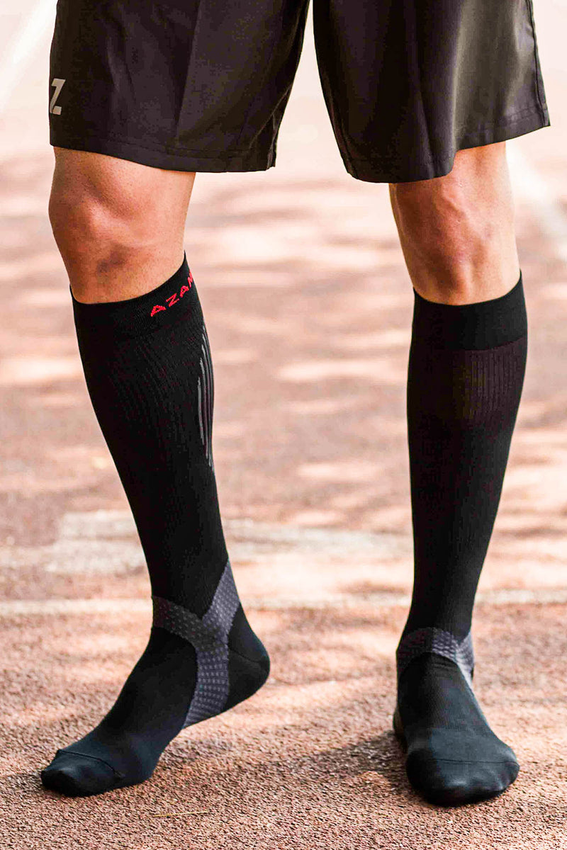 Azani Elite Compression Socks (Black)