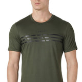 Azani Men's Active Stretch T-Shirt - Olive