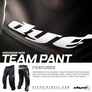 Dye Team Pants - New! Shipping Now!