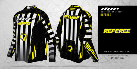 DYE UL-C Referee Jersey - New! Pre Order! Delivery in 40-45 days