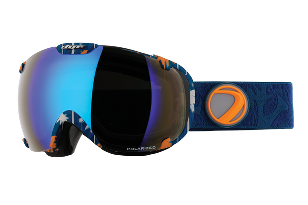 DYE Snow T1 Goggle | Aloha Polarized