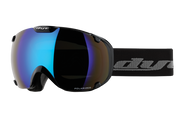 DYE Snow T1 Goggle | Black Polarized with Blue Ice