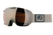 DYE Snow T1 Goggle | Rubber Bone Grey