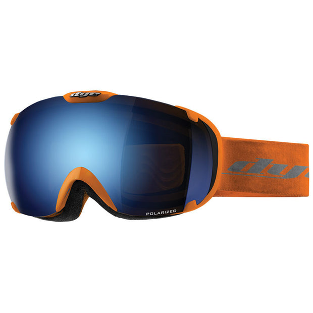 DYE Snow T1 Goggle | Orange POLARIZED w/ 2x Lenses