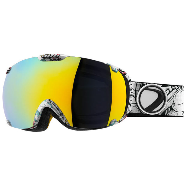 DYE Snow T1 Goggle | Steamboat w/ 2x Lenses