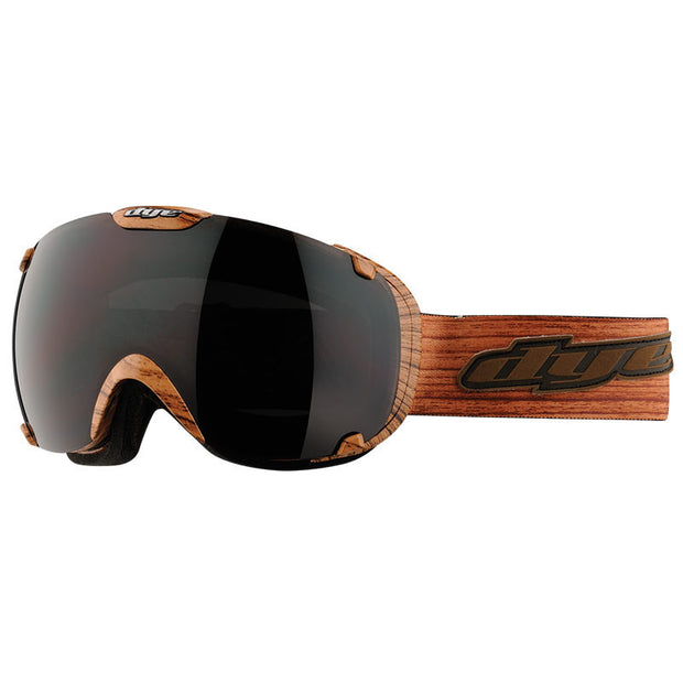 DYE Snow T1 Goggle | Woodie w/ 2x Lenses