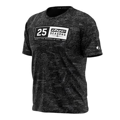 Shirt DYE-Fit 25 Seasons - Black - PRE ORDER