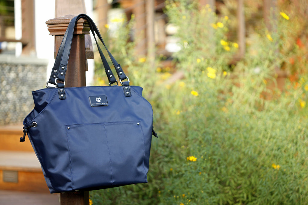 Diaper Bag in Midnight Blue - Brook Baby Bag