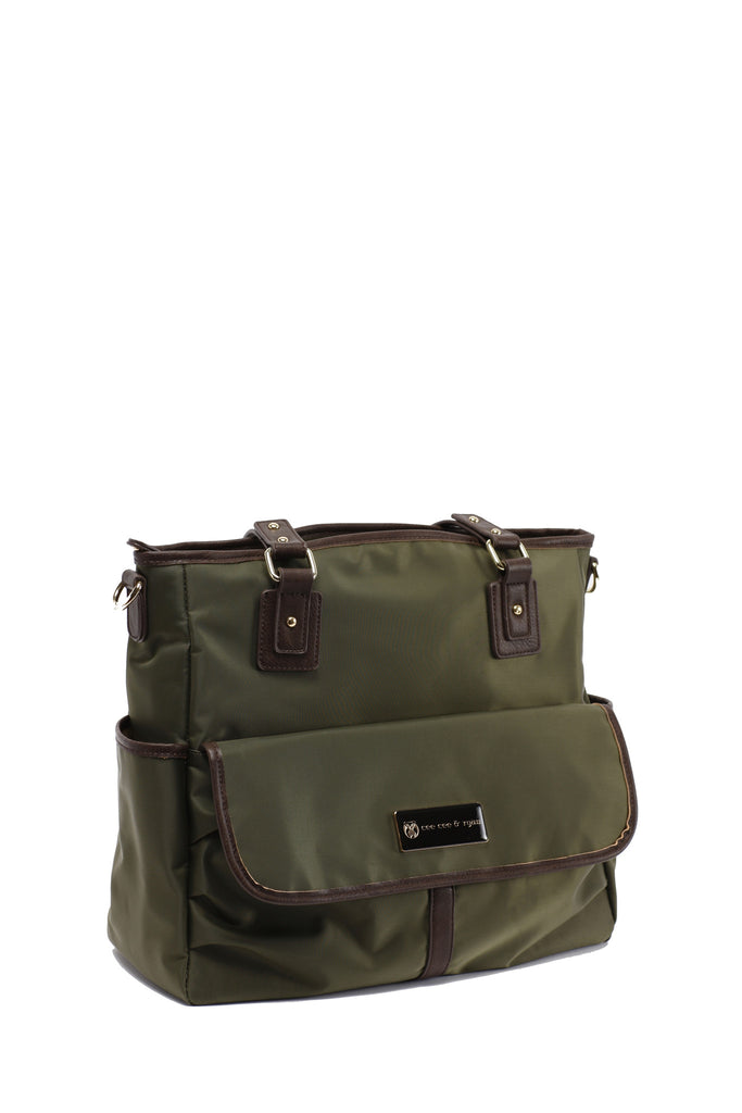 Diaper Bag in Olive - Lisa Baby Bag