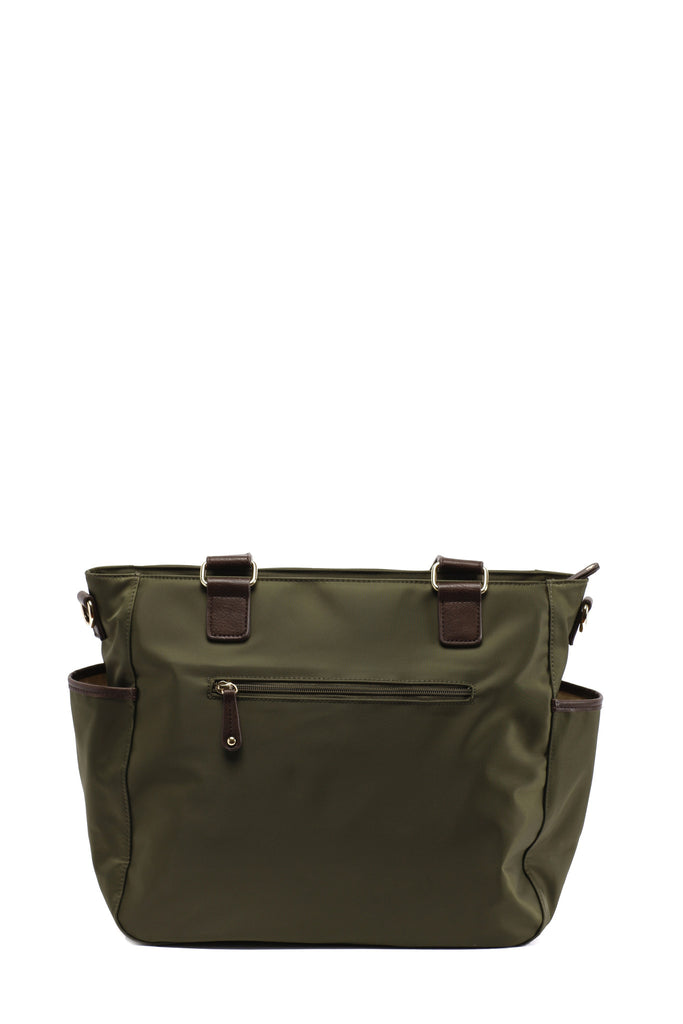 Diaper Bag in Olive - Kennedy Baby Bag