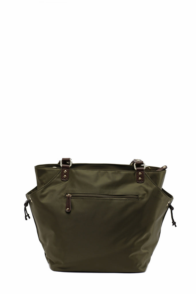 Diaper Bag in Olive - Brook Baby Bag