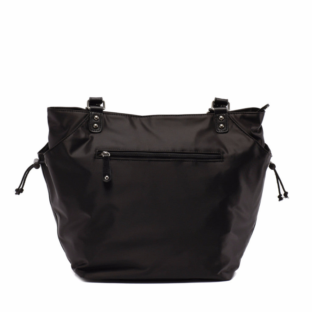 Designer Diaper Bag in Black - Brook Baby Bag