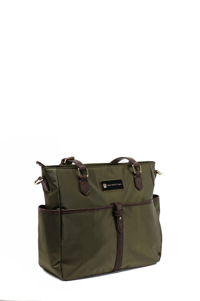 Diaper Bag in Olive - Josie Baby Bag