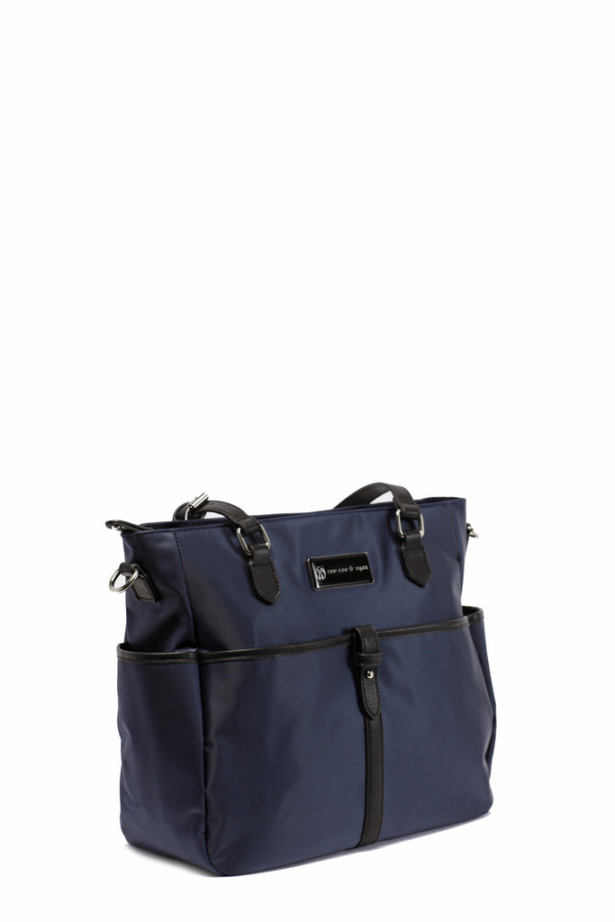 Diaper Bag in Midnight Blue - Josie Baby Bag
