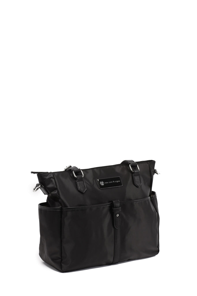Diaper Bag in Black - Josie Baby Bag