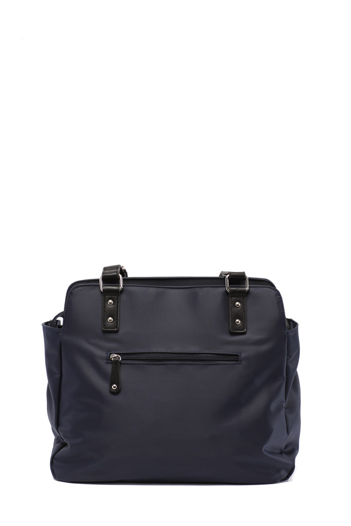 Diaper Bag in Midnight Blue - Justine Baby Bag