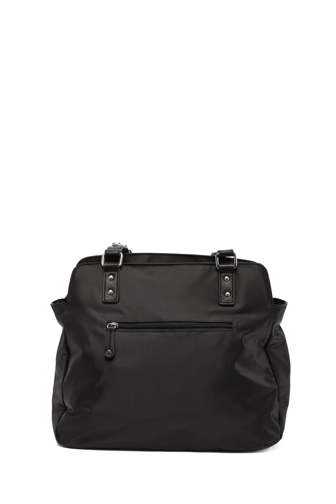 Diaper Bag in Black - Justine Baby Bag