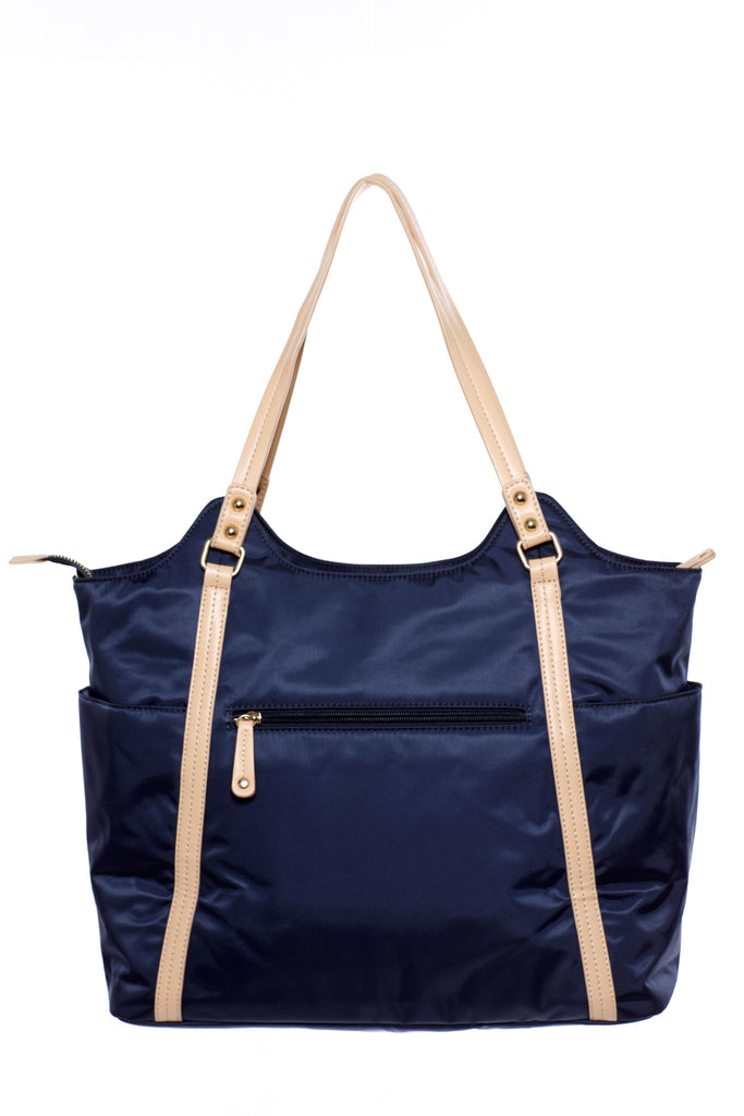 Diaper Bag in Midnight Blue - Stef Baby Bag