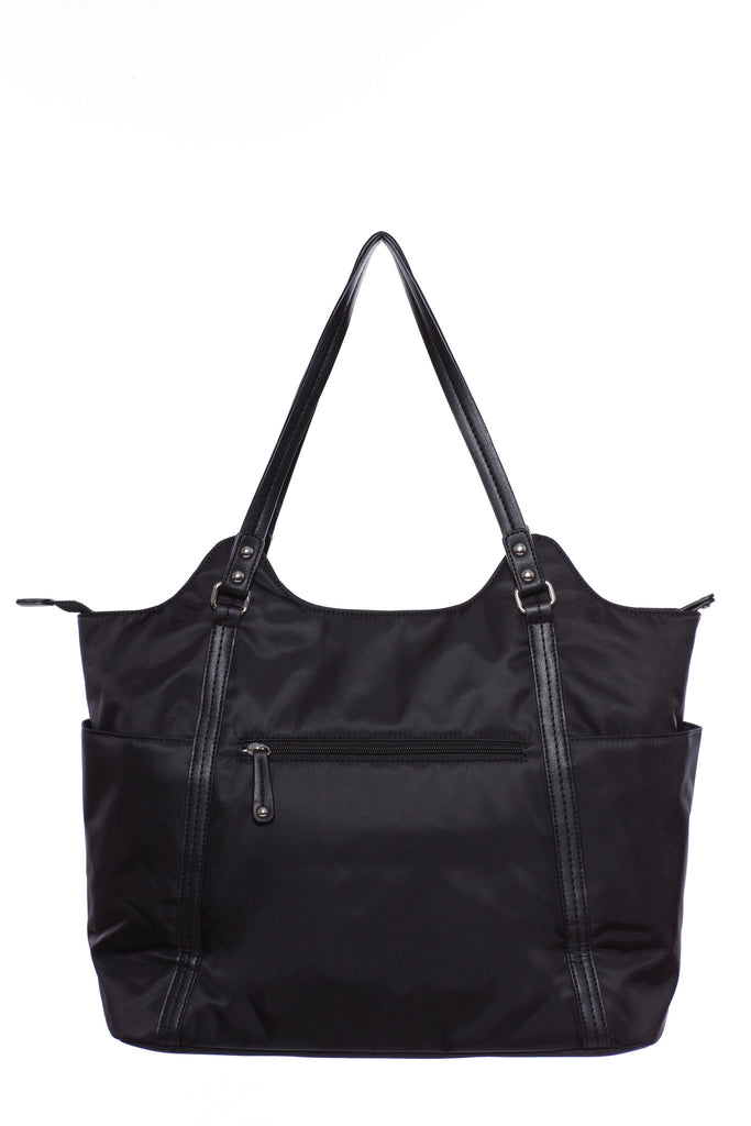 Diaper Bag in Black - Stef Baby Bag