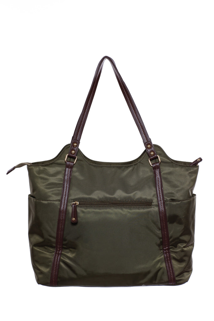 Diaper Bag in Olive - Stef Baby Bag