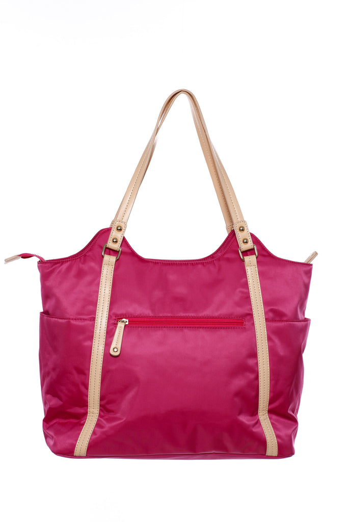 Diaper Bag in Pink - Stef Baby Bag