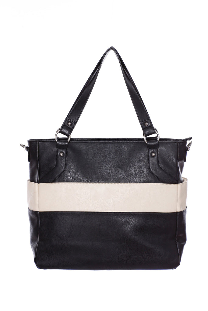 Diaper Bag in Black - Lexy Baby Bag