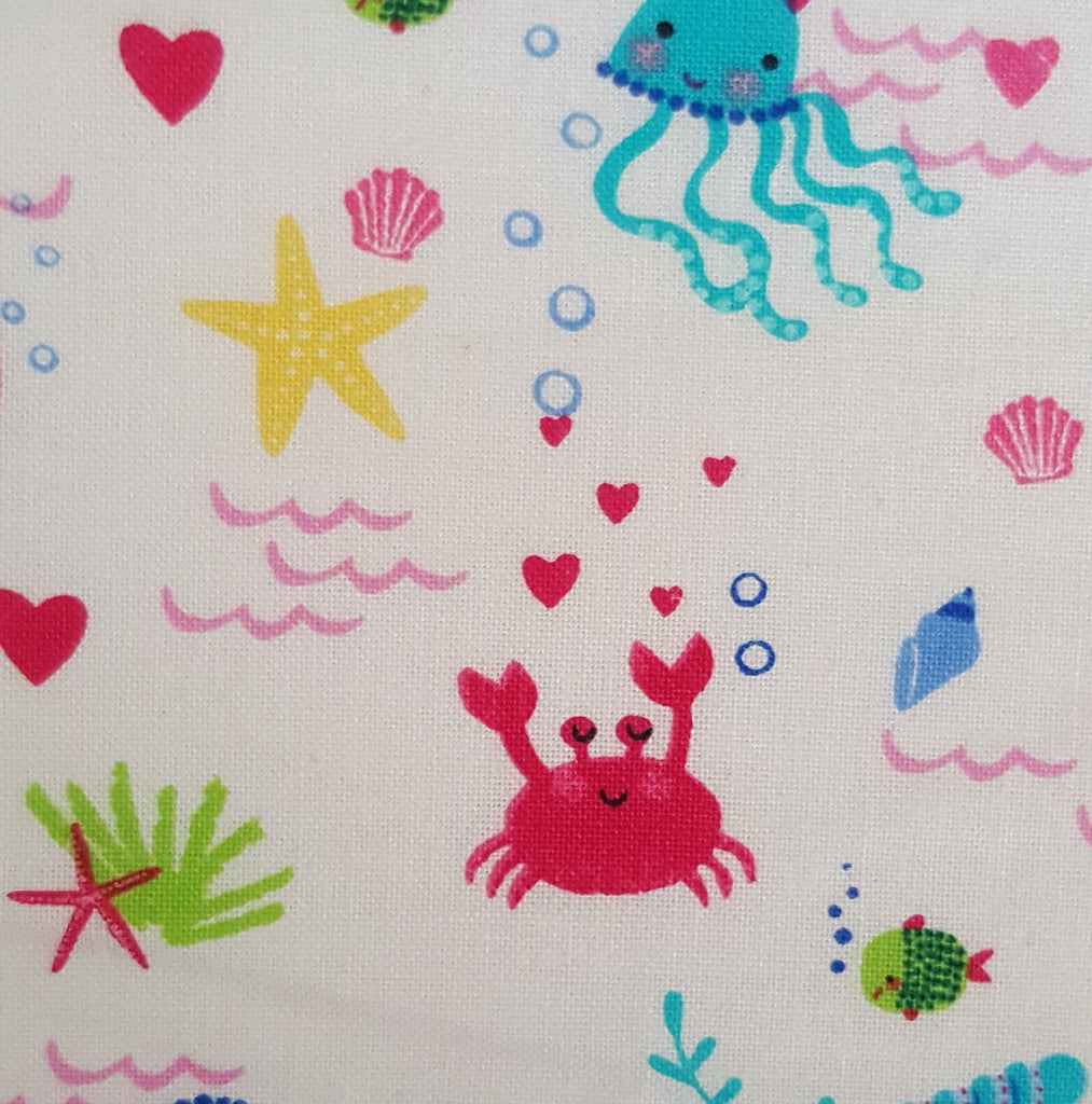 Uder the sea creature print