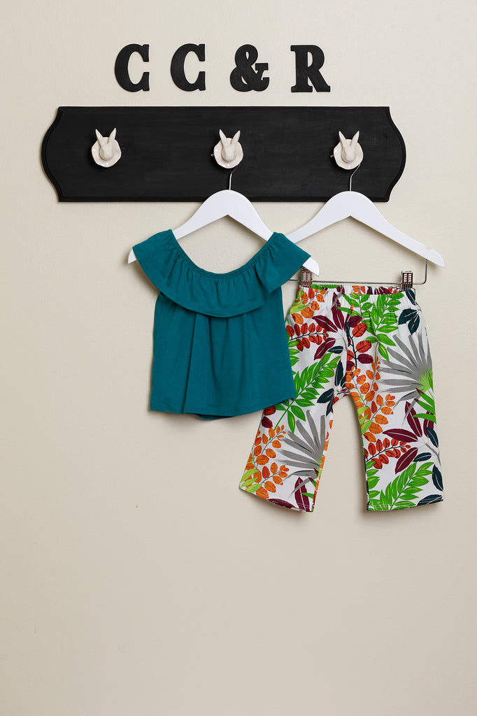 Kids Pant | Tropical Garden