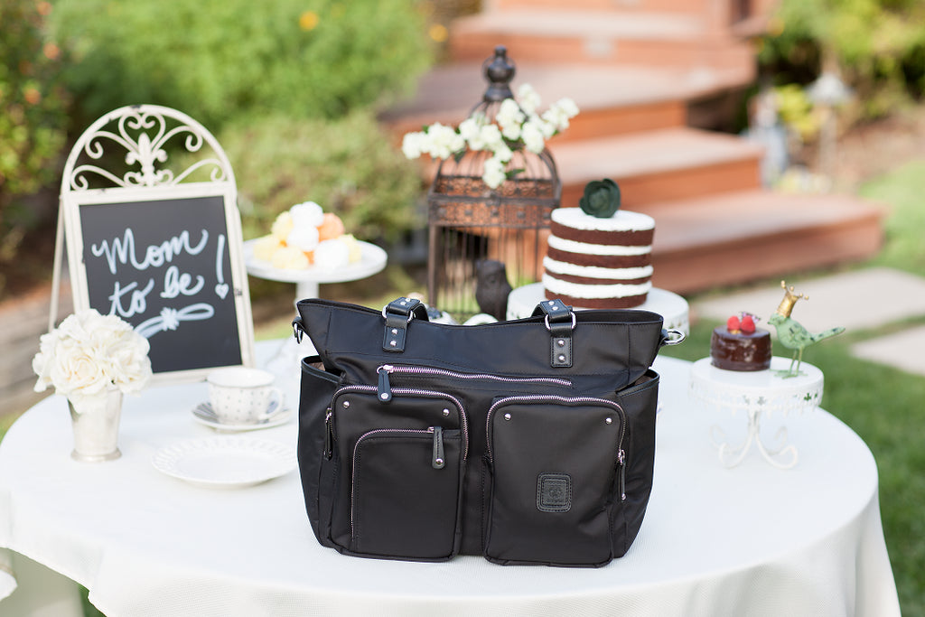 Diaper Bag in Black - Kennedy Baby Bag