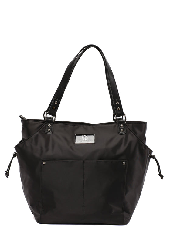Designer Diaper Bag Black Top selling trendy Diaper bag Carryall Tote