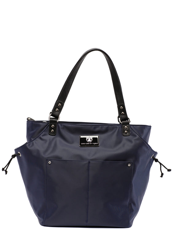 Midnight blue Designer Baby Top selling trendy Diaper bag Carryall Tote