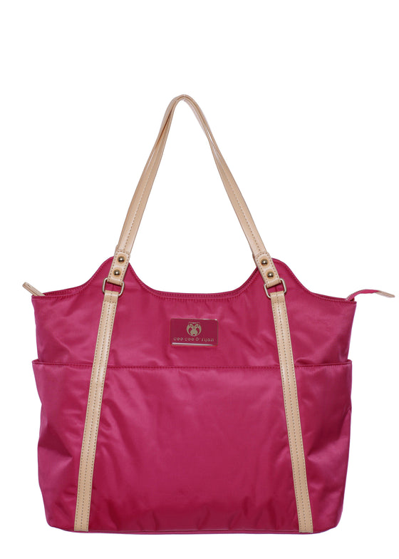 Pink Designer Baby Top selling trendy Diaper bag Carryall Tote