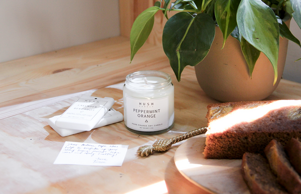 Sweat, tears and soy wax are the ingredients to Hush Candle's scented success