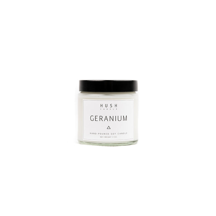 Geranium Essential Oil Candle
