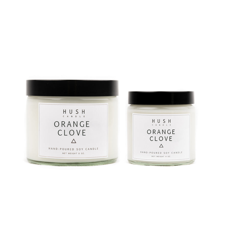 Orange Clove Essential Oil Candle