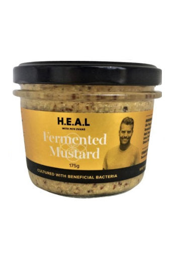 370. H.E.A.L with Pete Evans - Fermented Mustard [with FIRE TONiC ®] - 175g