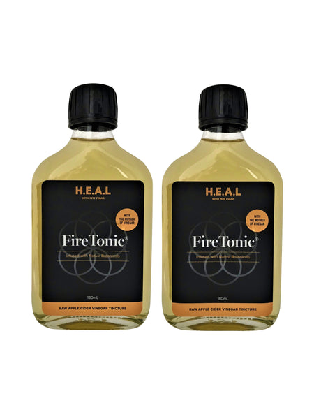 053. H.E.A.L with Pete Evan Fire Tonic  - Twin Pack