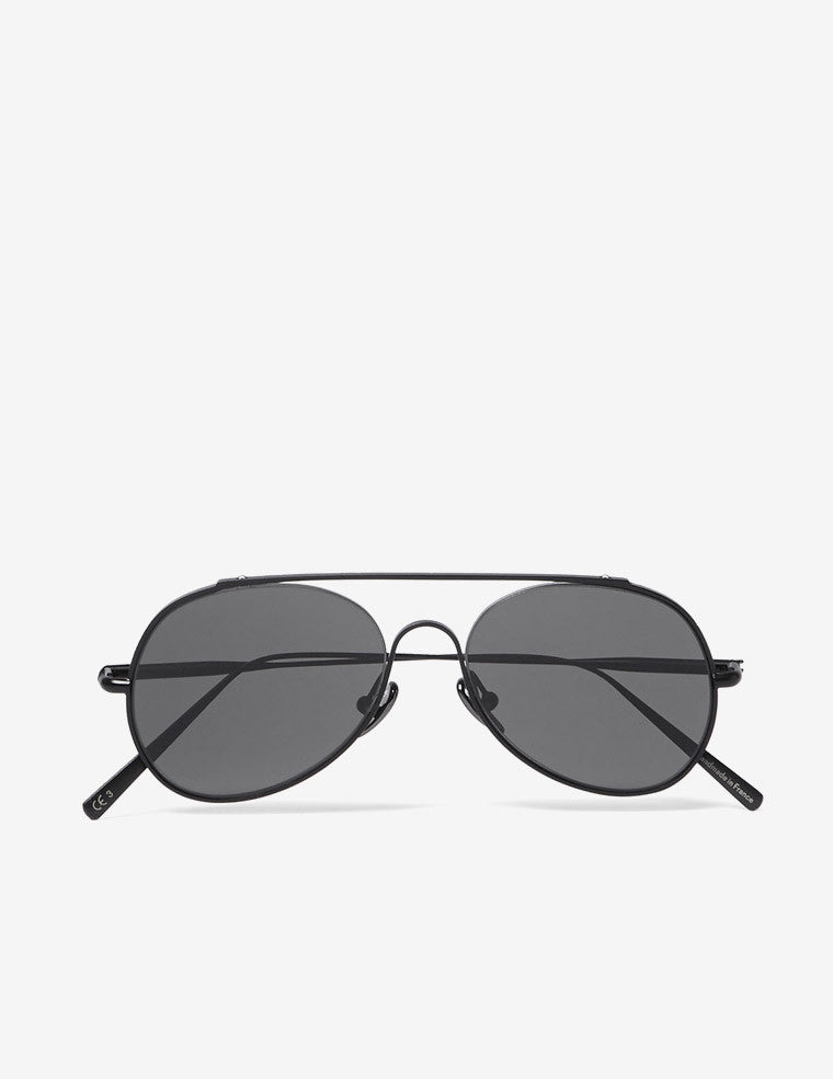 Aviator-Style Metal Sunglasses