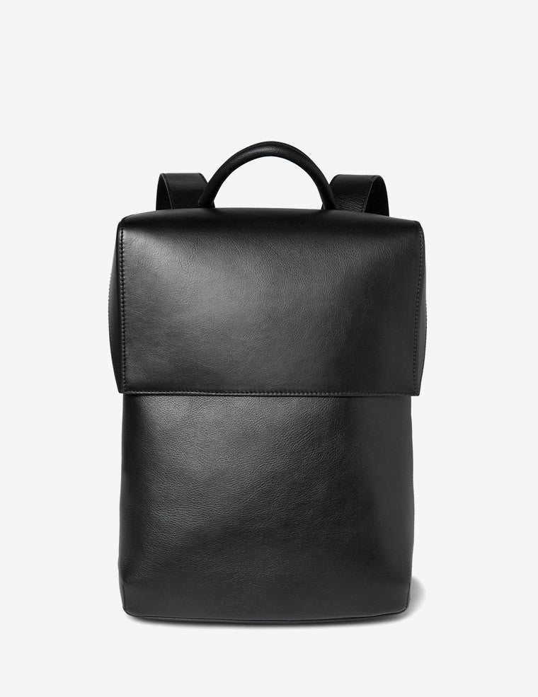 Marble Traveller Rubberised-Leather Backpack