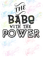The Babe With The Power - Fandoms - Digital Print, SVG, PNG, JPG Files