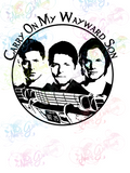 Carry On My Wayward Son Impala- Supernatural - Fandoms - Digital Print, SVG, PNG, JPG Files